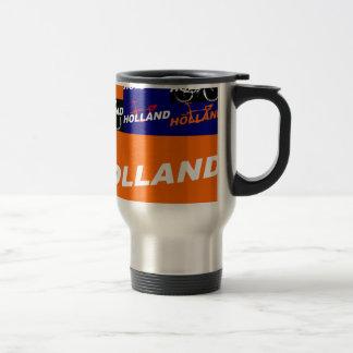The Netherlands Cycling Travel Mug