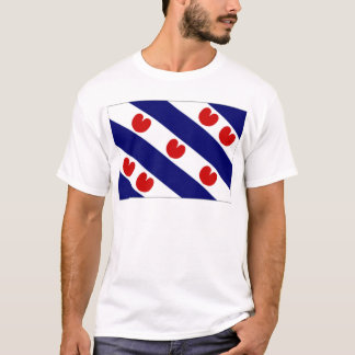 The Netherlands Friesland Flag T-Shirt