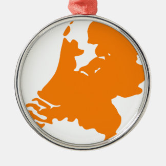 The Netherlands Metal Ornament