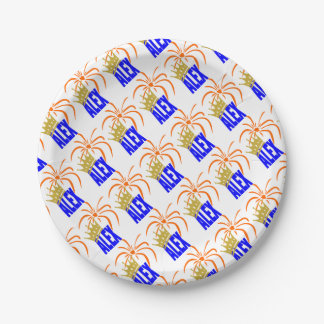 The Netherlands Paper Plate