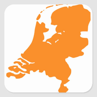 The Netherlands Square Sticker