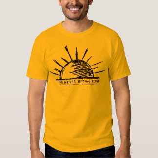 The Never Setting Suns Tee Shirt