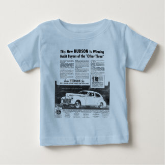The New 1940 HUDSON Automobile Baby T-Shirt