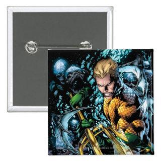 The New 52 - Aquaman #1 15 Cm Square Badge