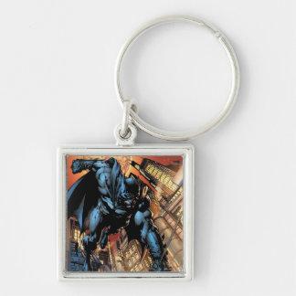 The New 52 - Batman: The Dark Knight #1 Silver-Colored Square Key Ring