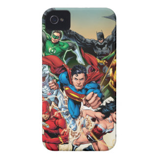 The New 52 Cover #1 4th Print iPhone 4 Case-Mate Case