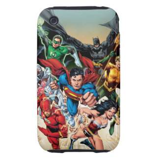 The New 52 Cover #1 4th Print iPhone 3 Tough Cover