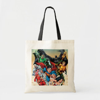 The New 52 Cover #1 4th Print Budget Tote Bag