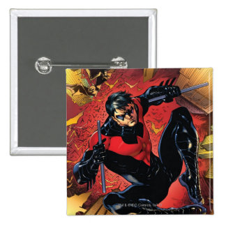 The New 52 - Nightwing #1 15 Cm Square Badge