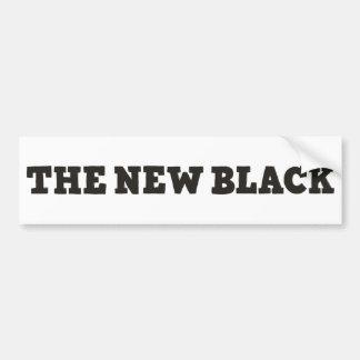 The New Black bumper sticker