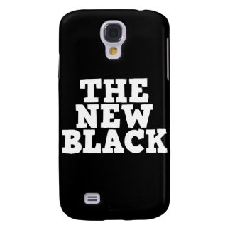 The New Black iPhone 3G case Samsung Galaxy S4 Cases