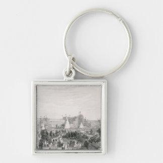 The New Crystal Palace at Sydenham, engraved by La Key Ring
