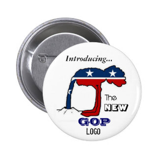The New GOP Logo Button
