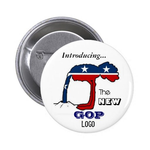 The New GOP Logo Button