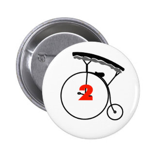 The New Number 2 6 Cm Round Badge