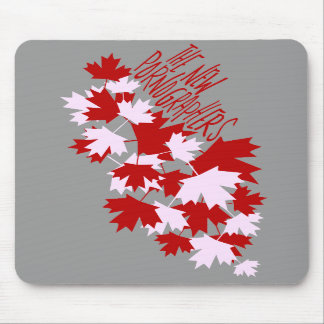 The New Pornographers Oh Canada! Mouse Mats