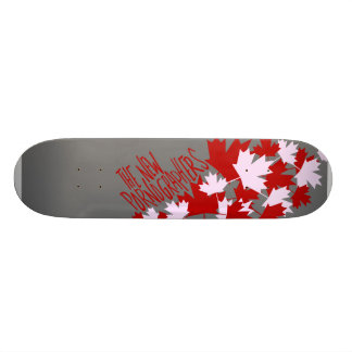 The New Pornographers Oh Canada! Skateboard Deck