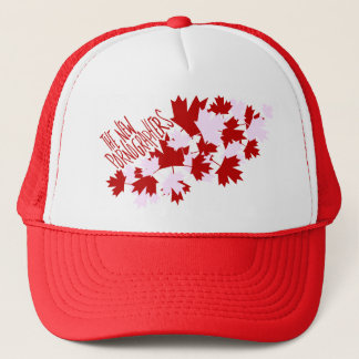 The New Pornographers Oh Canada! Trucker Hat