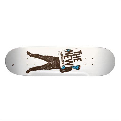 The New Pornographers Sign Skateboard Deck
