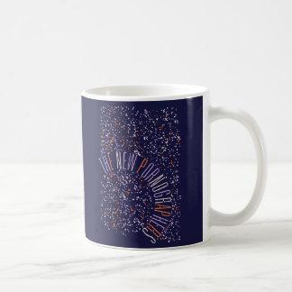 The New Pornographers Spaceship Classic White Coffee Mug