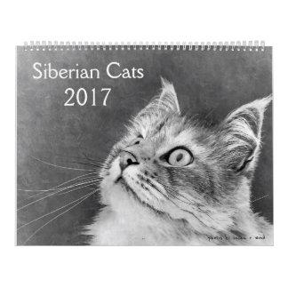 The New Siberian Cat Calendar 2017