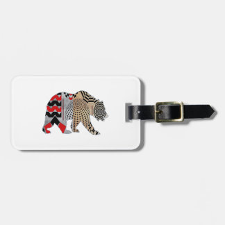THE NEW WAVE LUGGAGE TAG