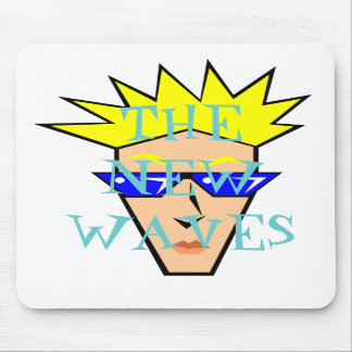 THE NEW WAVES MOUSE PAD