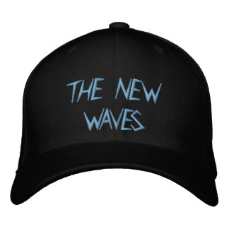 THE NEW WAVES STICHED CAP EMBROIDERED HAT