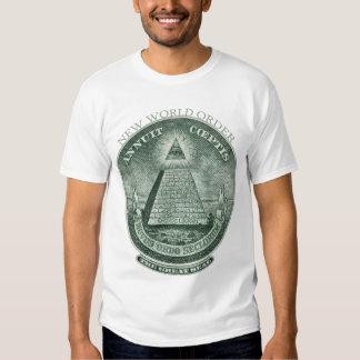 The New World Order Annuit Coeptis Tee Shirt