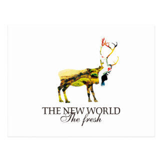 The New World Postcard