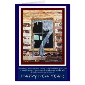 The NEW YEAR brings new possibilities Card