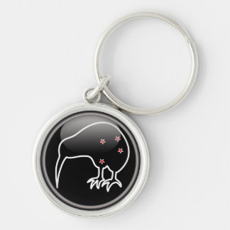 The New Zealand Kiwi and the Southern Cross Key Ring