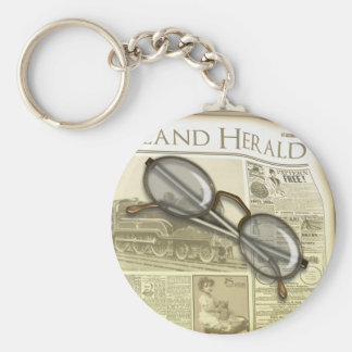 The Newspaper Keychains