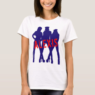 The Newyorker Ladies Womens Girls Custom by VIMAGO T-Shirt