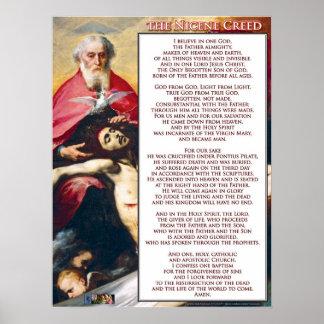 The Nicene Creed Print