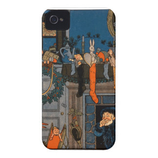 The Night Before Christmas, by Denlow, 1903 (colou Case-Mate iPhone 4 Cases