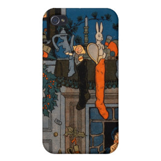 The Night Before Christmas, by Denlow, 1903 (colou Cases For iPhone 4