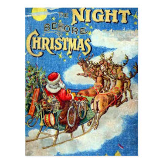 The Night Before Christmas Postcard