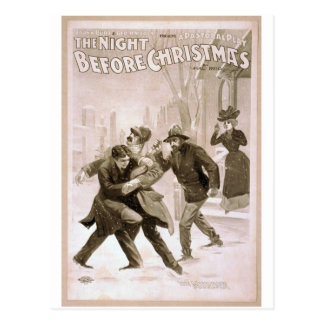 The Night before Christmas, 'The Murder' Retro The Postcards