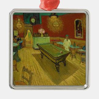 The Night Café by Vincent van Gogh (1888) Metal Ornament