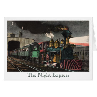 The Night Express Thank You Card