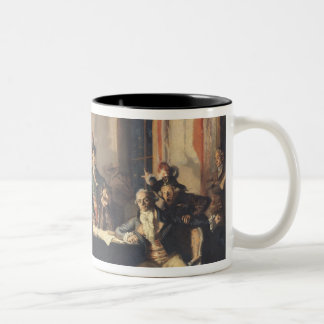 The Night of the 8th and 9th Thermidor Two-Tone Coffee Mug