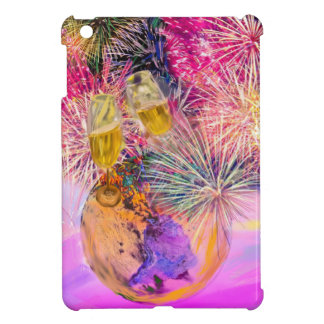 The night shines with fireworks cover for the iPad mini
