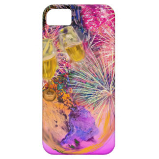 The night shines with fireworks iPhone 5 covers