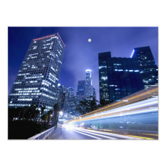 The night view Professional Paper (Satin) Photo Art