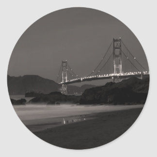 The Night Watch at Golden Gate Classic Round Sticker