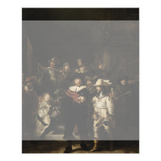 The Night Watch by Rembrandt van Rijn 11.5 Cm X 14 Cm Flyer