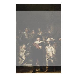 The Night Watch by Rembrandt van Rijn 14 Cm X 21.5 Cm Flyer