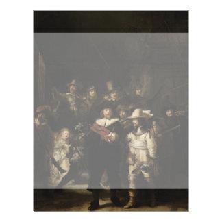 The Night Watch by Rembrandt van Rijn 21.5 Cm X 28 Cm Flyer