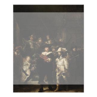 The Night Watch by Rembrandt van Rijn Flyers